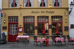 Vie di Bruges Fotografie Stock Libere da Diritti