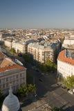 Vie di Budapest Fotografie Stock