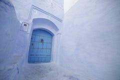 Vie di Chefchaouen Marocco Fotografia Stock Libera da Diritti