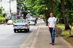 Vie di Chiang Mai Immagini Stock