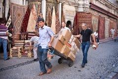 Vie di Costantinopoli Immagini Stock Libere da Diritti