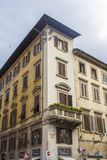 Vie di Firenze costruzioni fotografia stock libera da diritti
