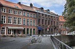Vie di Gand, Belgio Fotografia Stock Libera da Diritti