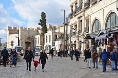 Vie di Gerusalemme Fotografia Stock
