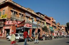 Vie di Jaipur Fotografie Stock