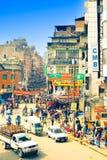 Vie di Kathmandu fotografia stock libera da diritti