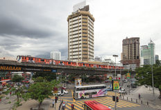 Vie di Kuala Lumpur fotografie stock