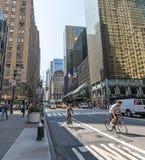 Vie di Manhattan Fotografia Stock Libera da Diritti