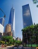 Vie di Manhattan Fotografia Stock