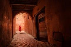 Vie di Marrakesh immagine stock libera da diritti