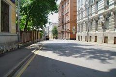 Vie di Mosca Immagine Stock