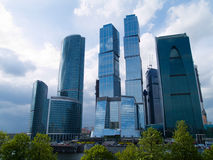 Vie di Mosca, Russia Immagini Stock Libere da Diritti