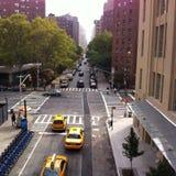 Vie di New York fotografie stock