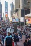 Vie di New York Fotografie Stock Libere da Diritti
