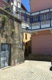 Vie di Oporto Portogallo di estate immagine stock