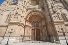 Vie di Palma de Mallorca fotografia stock