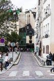 Vie di Parigi Immagini Stock