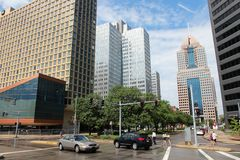 Vie di Pittsburgh Fotografia Stock