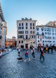 Vie di Roma Fotografie Stock Libere da Diritti