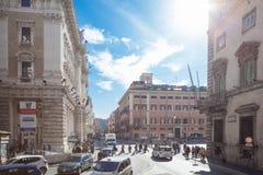 Vie di Roma Fotografia Stock Libera da Diritti