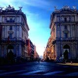 Vie di Roma Fotografie Stock