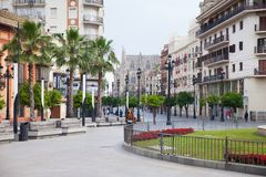 Vie di Sevilla fotografia stock libera da diritti