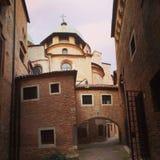 Vie di Treviso fotografie stock libere da diritti