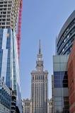 Vie di Varsavia Immagine Stock