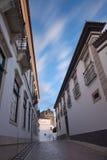 Vie di vecchia città Faro Fotografie Stock