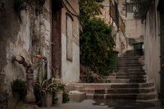Vie di vecchia Nazaret Fotografia Stock Libera da Diritti