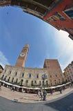 Vie di Verona fotografia stock