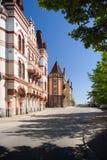 Vie di Vyborg-2 Fotografie Stock