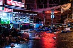 Vie dopo il bazar del distretto Fotografie Stock Libere da Diritti