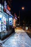 Vie dopo il bazar del distretto Immagini Stock Libere da Diritti