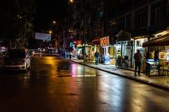 Vie dopo il bazar del distretto Fotografia Stock Libera da Diritti