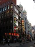 Vie e costruzioni di Tokyo nel pomeriggio Fotografia Stock