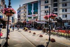 Vie e la gente della città di Yalova Fotografie Stock