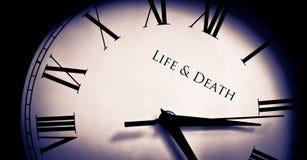Vie et mort Images libres de droits