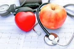 Vie et soins de santé sains Photographie stock