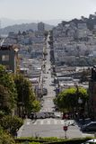 Vie famose di San Francisco fotografie stock