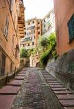 Vie a Genova fotografia stock