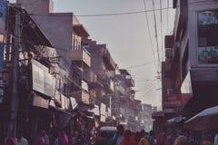 Vie a Jodhpur, Ragiastan, India Fotografie Stock Libere da Diritti