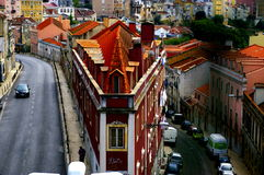 Vie a Lisbona Immagine Stock Libera da Diritti