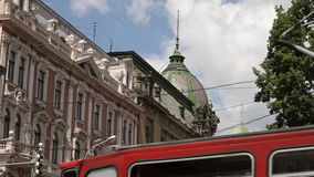 The vie of Lviv stock footage