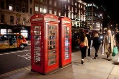 Vie nocturne à Londres Photos libres de droits