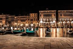 Vie nocturne à Venise Photo libre de droits