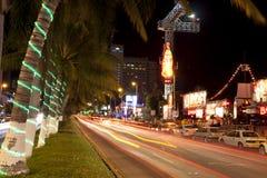 Vie nocturne d'Acapulco Images libres de droits