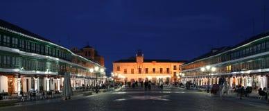Vie nocturne d'Almagro photos libres de droits