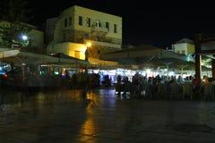 Vie nocturne dans une station touristique Photos stock