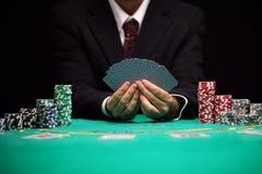 Vie nocturne de casino image libre de droits